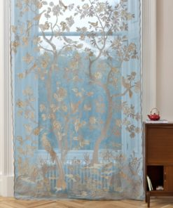 Paradiso Turquoise curtain