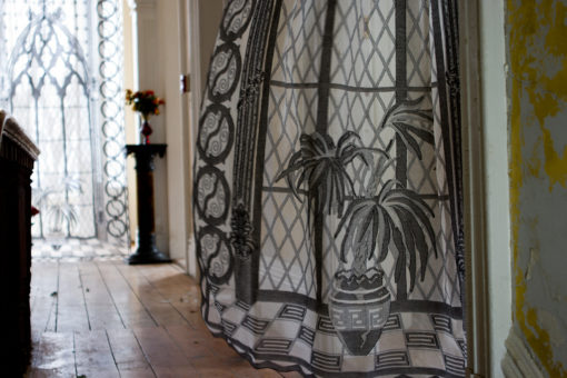 Gothic Curtain Closeup